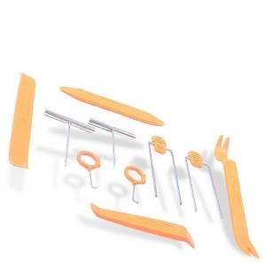 Herramientas plástico y Metal 12pcs  para montaje y desmontaje de equipo de audio de coche  HF-007 - Herramientas plástico y Metal 12pcs  para montaje y desmontaje de equipod de audio de coche  HF-007