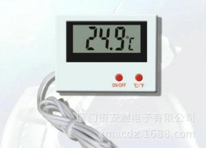 Termometro digital con sonda exterior  HT-5   - Termometro digital con sonda exterior con marco para encastre HT-5 AQUARIOS- TERRARIOS- REPITLES Incluye tecla encendido y apagado y posibilidad de cambiar de celsius a farenhait.