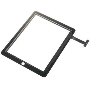 Panel Tactil + cristal  IPAD 1 negro - Reemplazo Panel Tactil  IPAD 1  VALIDO SOLO IPAD 1