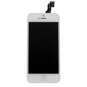 Pantalla iPhone 5C 8GB 16GB 32GB Completa (Tactil mas Lcd) Cristal Digitalizador blanco - Pantalla completa para iPhone 5C original, este es el único repuesto que necesitas para poder sustituir la pantalla de cristal a tu iPhone 5C de color blanco