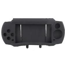 Funda Silicona Anti-shock para PSP2000/SLIM Color NEGRO - Funda Anti-shock para PSP2000/SLIM Funda protectora de silicona para la PSP2000/SLIM COLOR NEGRO