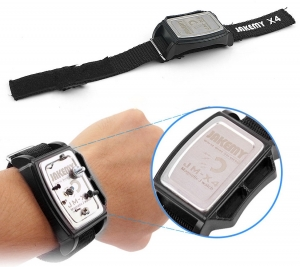 Pulsera magnetica atrapa tornillos JM-X4 - Pulsera magentica para almacenamiento temporal de tornillos o piezas durante la reparacion de telefonia movil o similar.