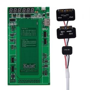 Kaisi K9202 Bse carga universal para bateria iPhone  4G/4S/5/5c/5s/6/6+ e Ipad 2/3/4/5(air)/mini1/2  - Kaisi K9202 Base carga universal para bateria iPhone  4G/4S/5/5c/5s/6/6+ e Ipad 2/3/4/5(air)/mini1/2  permite cargar comprobar 2 baterias a la vez al tener 2 puestos de carga para cada movil.