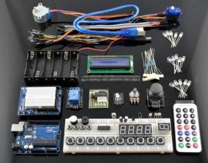 Kit Iniciacion Arduino (incluye Arduino Uno compatible) - Kit Iniciacion Arduino (incluye Arduino Uno compatible)