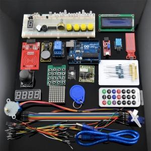 RFID Kit IniciacionArduino RFID RTC DS1302 - LCD I2  [incluye Arduino Uno compatible+ material RFID] - Kit Iniciacion Arduino (incluye Arduino Uno compatible)