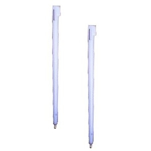 Nintendo DSi Stylus Pen [2 punteros de recambio color BLANCO] - Nintendo DSi Stylus Pen [2 punteros de recambio color blanco]