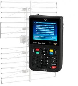 """ANALIZADOR TV DIGITAL TDT-DVB-T SATLINK WS-6905 - Analizador digital DVB-T WS-6905 analizador DVB-T móvil con altavoz integrado / indicación de la intensidad de la señal en porcentaje y gráfico de barras / recepción y reproducción de programas TV y radio / pantalla a color TFT LCD de 3,5"""" de diagonal (8,9 cm)"""