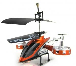 HELICOPTERO IR CONTROL MODELO M30  - HELICOPTERO IR CONTROL MODELO M30  El Mini Helicóptero de IR Control M30 tiene una estructura Metalica, 4 Canales,  4 rotores   El color puede ser distinto del de la imagen.
