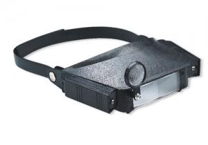 Lupa con soporte para cabeza y luz - Lupa con soporte para cabeza y luz