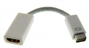 Adaptador MINI DVI a HDMI - Adaptador de Mini DVI a HDMI podras conectar una pantalla,TV o  proyector utilice un cable o conector HDMI a un Mac con conexión Mini DVI.