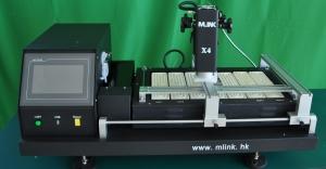 Estación MLINK X4 - Estación MLINK X4- Envio gratuito España y Portugal  Nueva maquina Mlink X4 con una superficie de trabajo extragrande capaz de trabajar con placas de hasta 57 cm. Esta maquina usa el mismo software que la X2 y X3.