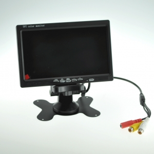 "Monitor encastrab 7"" color 800x480, 2 entradas video conmutables para camara coche, cctv  - Monitor 7"" color 800x480 2 entrada video conmutables para camara, cctv,  etc.."