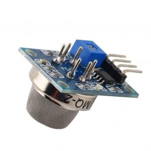 MQ-2 modulo sensor humo y gas combustible detector  [Arduino Compatible] - El módulo MQ-2 utiliza para la detección de humo y gases combustibles. Dispone de salida analógica y digital