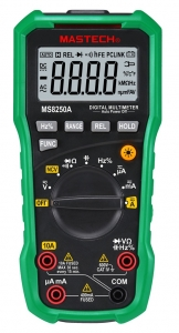 MULTIMETRO DIGITAL AUTO RANGO MASTECH MS8150A, FREQUENCIA, Y CAPACIMETRO CAT3 CAT4 - PINZA AMPERIMETRICA DIGITAL AUTO RANGO MASTECH MS8150A CON MULTIMETRO, FREQUENCIA, Y CAPACIMETRO CAT4