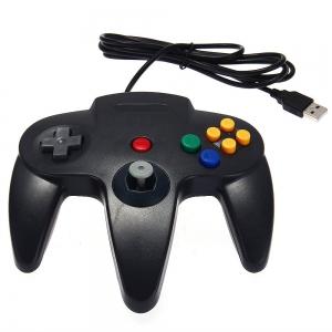 Mando Pad tipo Nintendo 64 N64 USB para PC o Mac NUEVO - Mando Pad tipo Nintendo 64 N64 USB para PC o Mac NUEVO