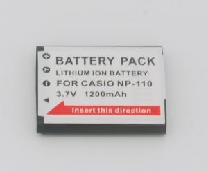 Batería compatible  CASIO CNP110/NP-110 - Batería compatible  CASIO CNP110/NP-110