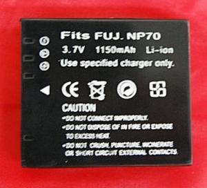 Batería compatible  FUJI NP-70 - Batería compatible  FUJI NP-70