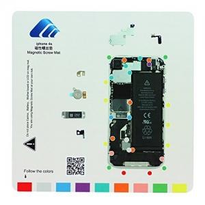 Pizarra magnética  para  organizar tornillos iphone 4S   - Pizarra magnética  para  organizar tornillos iphone 4S