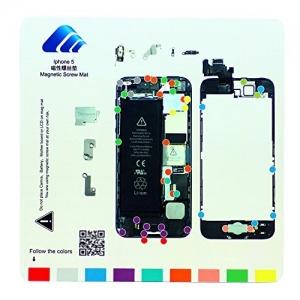 Pizarra magnética  para  organizar tornillos iphone 5   - Pizarra magnética  para  organizar tornillos iphone 5
