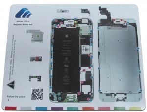 Pizarra magnética  para  organizar tornillos iphone 6plus - Pizarra magnética  para  organizar tornillos iphone 6plus