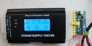 Herramienta testeo fuente de alimentacion ATX  - Herramienta testeo fuente de alimentacion ATX  Nos permite comprobar facilmente todos los cables de una fuente de alimentacion atx