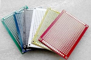 Placa baquelita prototipos 5cmx7cm color VERDE - Placa baquelita prototipos 5cmx7cm