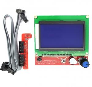 3D Printer RepRap RAMPS LCD Controller LCD/SD Panel  - Controlador LCD impresora 3D RepRap - RAMPS - Incluye ranura SD - lcd12864