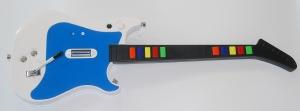 Guitarra Rock Zero V 10 Freets para WII - Guitarra Inalambrica Wii 10 frets Compatible con juegos como el Guitar Hero III, Guitar Hero World Tour  etc.(de la serie Guitar Hero). 10 Freets Compatibles con todos los Wii remote. Carcasa intercambiable.  Funciona con Wiimote no incluido. También compatible con Rock Band II