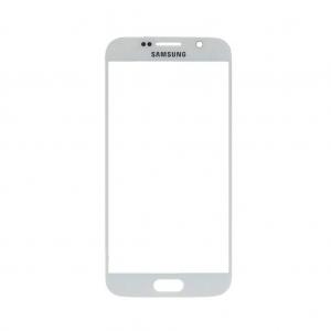 Pantalla de Cristal Samsung Galaxy S6 BLANCO - Pantalla de Cristal Samsung Galaxy S6 BLANCO