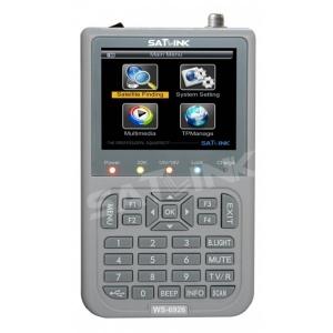 Buscador Satelites Satlink WS-6926 HD DVB-S  y DVB-S2 HD - Buscador Satelites Satlink WS-6926 HD DVB-S  y DVB-S2 HD