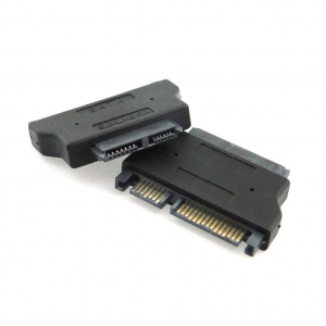 Adaptador Conversor SlimLine SATA 13-pin a placa a SATA 22-pin a placa - Adaptador Conversor SlimLine SATA 13-pin a placa a SATA 22-pin a placa