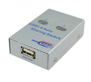 Switch-Conmutador 2 puertos para periféricos USB 2.0 para compatir un dispositivo USB entre 2 PC - Switch-Conmutador 2 puertos para periféricos USB 2.0 para compatir un dispositivo USB entre 2 PC