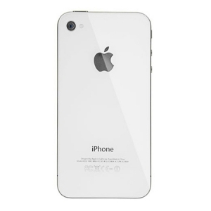 Tapa Trasera Cristal  iPhone 4S Blanco - Tapa Trasera Cristal  iPhone 4 Blanco Repuesto que corresponde a la tapa trasera cristal  iPhone 4 Blanco.