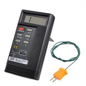 Sonda Temperatura Digital   TES-1310  rango de -50º a + 1300ºC - Sonda Temperatura Digital   TES-1310  rango de -50º a + 1300ºC Con seleccion celsius o farenhait . Seleccion de escala precision de la medicion. Y tecla para retener una medicion.