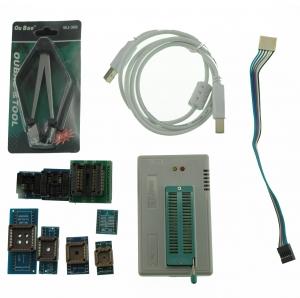 Programador universal USB Minipro TL866A con icsp + 5 sockets - Nuevo Programador universal de alto rendimiento TL866A Mini USB , apto para: reparación de BIOS de  placa, reparación de electrodomésticos y programacion de diferentes tipos de pic, avr, memorias etc..