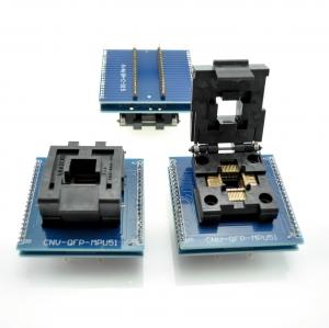 Zocalo programador facil insercion TQFP44/LQFP44/ A DIP40 - Zocalo programador facil insercion TQFP44/LQFP44 A DIP40 Compatible con todos los programadores que vendemos.