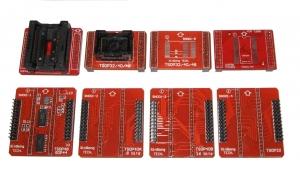 Pack Zocalo especiales programador TL866CS/A incluye TSOP48 y SOP40 a DIP40 ,Y MAS - Pack Zocalo especiales programador TL866CS/A incluye Tsop32 Tsop40 Tsop48 Psop44 sop56 a DIP40