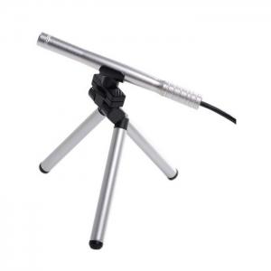 Microscopio Usb 2 Megapixel  HD 200X con soporte  - Con el microscopio USB Mini 200X, puede ver y compartir los pequeños detalles de una muestra o un objeto en la pantalla del ordenador. Es una gran herramienta para el control de calidad, inspección de placas PCB, para usos  médicos, la numismática, inspección de la joyería, etc..