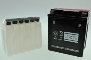 Bateria Moto YTX7L-BS GEL (6-FMA-7D) - Bateria Moto YTX7L-BS