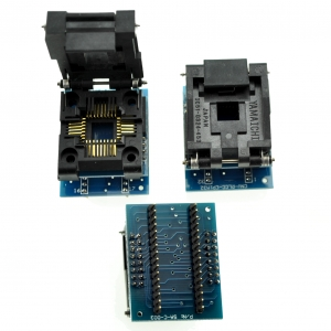 Zocalo programador facil insercion PLCC32 A DIP32 - Zocalo programador facil insercion PLCC32 A DIP32 Compatible con todos los programadores que vendemos.