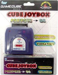 GameCube Joybox Convertidor Mandos PS2 para Gamecube - GameCube Joybox  Convertidor Mandos PS2 para Gamecube.  - Utiliza tus mandos de PSX y PS2 en tu GameCube. - Soporta funciones de vibración. - Todos los botones funcionan al 100%, incluidos los controles analógicos.