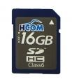 Tarjeta SDHC 16 GB  [Clase 6] Alta velocidad - Tarjeta de memoria SD / SDHC de 16GB Clase 6, alta velocidad. Esta es  una tarjeta de memoria de tipo Secure Digital de alta capacidad (SDHC) destacan especialmente por su alta velocidad, lo que las convierte en idóneas para aplicaciones relacionadas con la fotografía, vídeo u otras aplicaciones que precisen grabar y leer mucha velocidad.