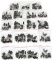 Pack 190 Condensadores Electroliticos - 10 condensadores de 19 valores diferentes de 1uF a 1000uF - Pack 190 Condensadores Electroliticos - 10 condensadores de 19 valores diferentes de 1uF a 1000uF, en bolsitas individuales con cierre
