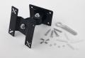 """Soporte Televisión Pared articulable VESA 75/100 - Valido de 14"""" a 24"""" max 15kg  - Soporte Televisión Pared articulable VESA 75/100 - Valido de 14"""" a 24"""" max 15kg  Soporte de doble articulación giratoria y inclinacion para LCD, LED o Plasma de 14"""" a 24"""" que permite un ángulo de inclinación de hasta 45º y giro hasta 45º. Compatible con VESA de  75x75 y 100x100 mm. Está fabricado en acero, con acabado negro, y soporta hasta 15 kg."""
