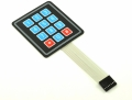 Teclado Matriacial 4x3 Flexible [Arduino Compatible] - Teclado Matriacial 4x3 Flexible [Arduino Compatible]