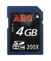 Tarjeta SDHC 4GB  [Clase 10] Alta velocidad - Tarjeta de memoria SD / SDHC de 4GB clase 10, alta velocidad. Esta es  una tarjeta de memoria de tipo Secure Digital de alta capacidad (SDHC) destacan especialmente por su alta velocidad, lo que las convierte en idóneas para aplicaciones relacionadas con la fotografía, vídeo u otras aplicaciones que precisen grabar y leer mucha velocidad.