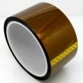 Cinta adhesiva Kapton 50mm (resitente al calor) - Cinta adhesiva Kapton 50mm (resitente al calor), tambien conocida como cinta de poliamida Producto para reballing BGA, y trabajos de soldadura en los que sea necesario proteger algun componente del calor