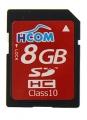 Tarjeta SDHC 8GB  [Clase 10] Alta velocidad - Tarjeta de memoria SD / SDHC de 8GB clase 10, alta velocidad. Esta es  una tarjeta de memoria de tipo Secure Digital de alta capacidad (SDHC) destaca especialmente por su alta velocidad, lo que la convierte en idónea para aplicaciones relacionadas con la fotografía, vídeo u otras aplicaciones que precisen grabar y leer mucha velocidad.