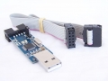 Programador USBASP 2.0 para  AVR ATMEL -  Programador compatible  con pickit 3.5 USB para Microcontroladores de Microchip