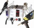 ESTACION DE SOLDADURA AOYUE INT2702A+ - AOYUE 2702A+ Lead-Free Repairing System.  Estación completa para soldar y desoldar componentes en cualquier formato, SMD,DIP ETC, Incluye absorsion de humos. Incluye soldador, desoldador y aire caliente.